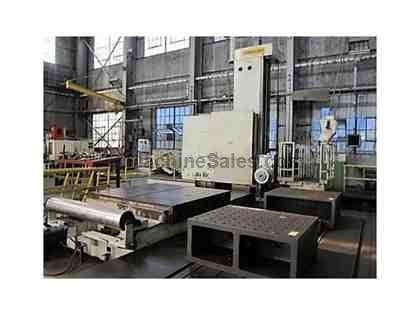"Giddings & Lewis G60-FX 6"" CNC Floor Type Horizontal Boring Mill"
