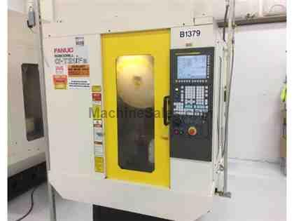ROBODRILL, FANUC ALPHA T-21IFA, CNC VERTICAL MACHINING CENTER NEW: 2012