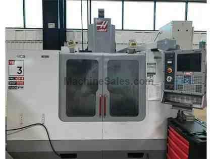 HAAS, VF-3, CNC VERTICAL MACHINING CENTER NEW: 2002