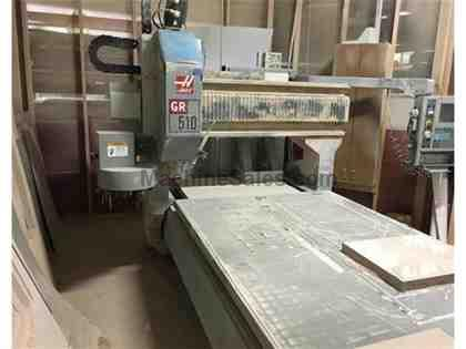 HAAS, GR-510, CNC VERTICAL MACHINING CENTER NEW: 2004