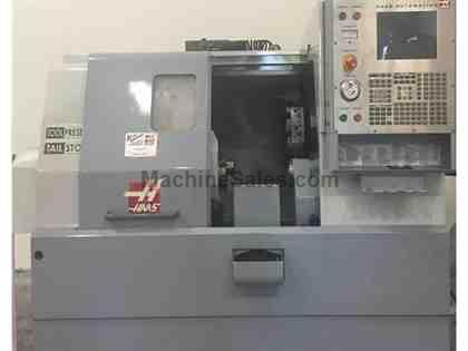 HAAS SL 10T CNC TURNING CENTER W/TAILSTOCK