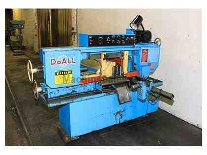 DOALL MODEL: C916-A HORIZONTAL BAND SAW W/AUTOMATIC FEED NEW: 1992
