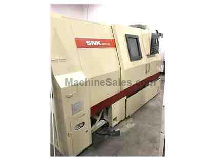SNK SUT 10 CNC TURNING CENTER LATHE W/ FANUC 21T
