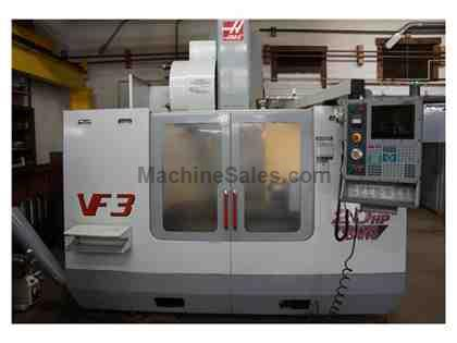 2001 Haas VF-3B CNC Vertical Machining Center & Rotary Table