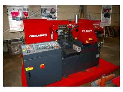 NEW CHENLONG HORIZONTAL DUAL COLUMN AUTOMATIC BAND SAW