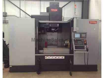 2011 Toyoda FV 1480 4 Axis Vertical Machining Center