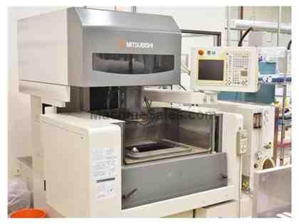 MITSUBISHI FA-10SM, 2005, AUTOMATIC WIRE THREADER, SUBMERSIBLE MACHINING