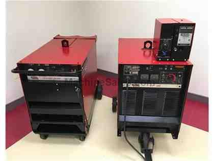 2 Lincoln Power Units and LN-7 Wire Feeder