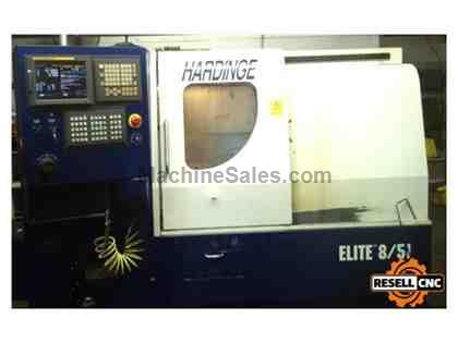 "Hardinge Elite 8/51 - 2"" Bar, 8"" Chuck, 21"" Swing, 2006"
