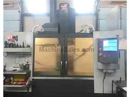 HAAS VF-4B & HRT-210, 2011, TSC, PROBING, GEARBOX, 570 HOURS!