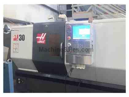 "HAAS ST-30TB, 2012, BIG BORE (4""), 12"" CHUCK, GEARBOX, ONLY 1,600"