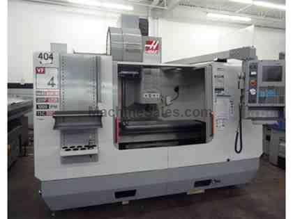 Haas VF-4 CNC Vert Machining Center,