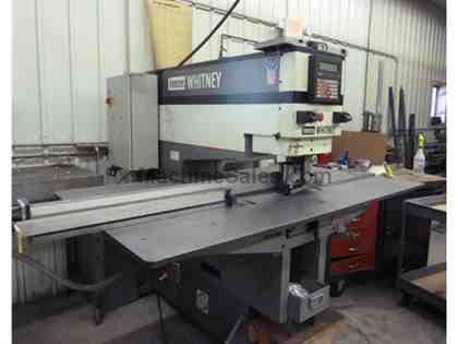 Whitney Model 1524 Hydraulic Punch w/ CNC Gaging 50 Ton New 1999