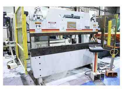 ACCURPRESS 7608 HYDRAULIC CNC PRESS BRAKE