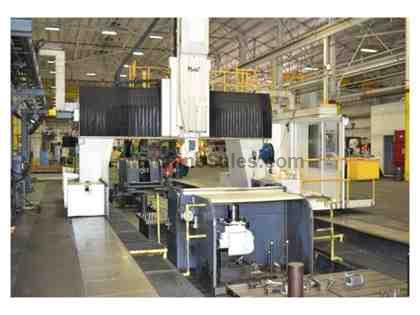 Cincinnati Maag U5-1500 CNC Travelling Gantry Rail Type Milling Machine