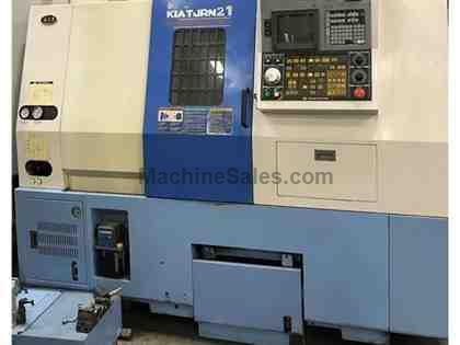 KIA TURN 21 CNC TURNING CENTER W/TAILSTOCK LATHE Model: TURN 21