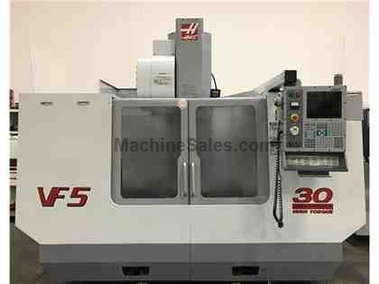 HAAS VF5 VERTICAL MACHINING CENTER 10000 RPM