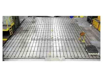 "(18) 63"" x 153"" x 19.75"" T-Slotted Floor Plates"