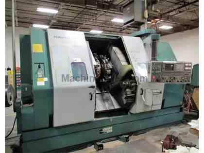 NAKAMURA TOME TW-30MMY Twin-Spindle 7-Axis CNC Turning Center