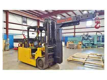 25,000 Lb, RICO PEGASUS P-250 ELECTRIC FORKLIFT, 2005, GREAT FOR MOLD WORK