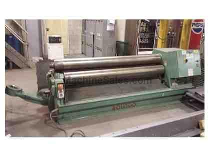 ROUNDO PS205/6 3 Roll Plate Bending Rolls (101810)