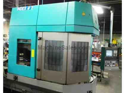 2007 Index V160C Vertical Turning Center with Live Tool Turret C-Axis