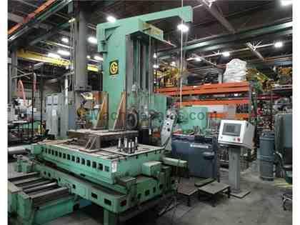 GIDDINGS & LEWIS H6-T TABLE TYPE HORIZONTAL BORING MILL