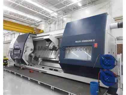 NILES SIMMONS N30 MC CNC Slant Bed Turning & Milling Center