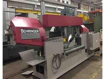"43.3"" x 19.6"" BEHRINGER MODEL HBP530-1104 SEMI-AUTOMATIC HORIZONTAL BAND SAW"