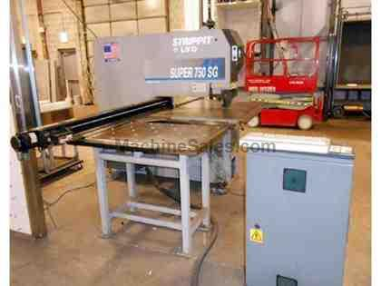 Strippit LVD Super 750 SG/40 Semi-Automatic CNC Single Station Punch