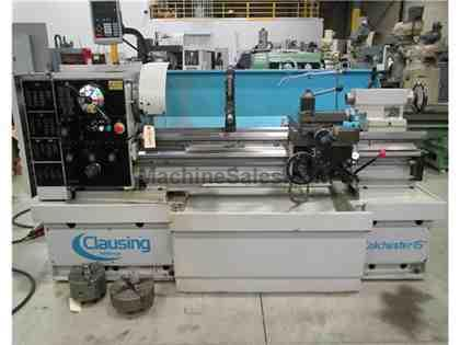 "2006 CLAUSING COLCHESTER 8043 Gap Bed geared HEad Engine Lathe, 15"" x"