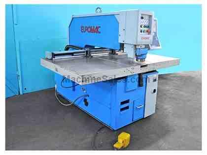 33 Ton EUROMAC CX30/1000 CNC Punch with Multitool