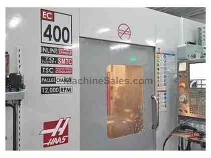 2008 Haas EC-400 PP | CNC | Horizontal Machining Center | #109549