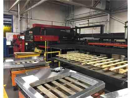 2000 Amada Vipros 368 King-II CNC Turret Punch