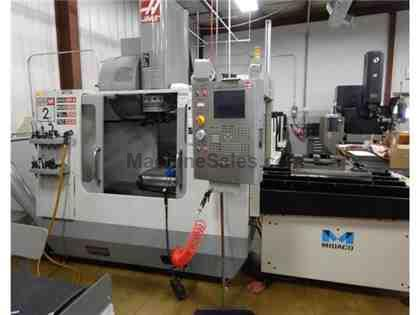Haas VF-2SS Vertical Machining Center w/ auto pallets, 2006