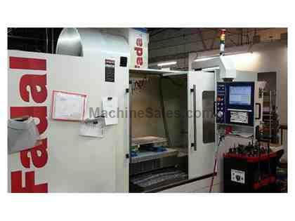 2014 FADAL 60-30B  CNC VERTICAL MACHINING CENTER WITH ALL OPTIONS INSTALLED