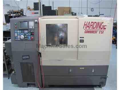 Hardinge Conquest T51 CNC Turning Center, Approx 1997