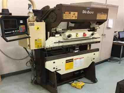 1989 Diacro 1448-2, Rortay Hydraulic CNC Press Brake
