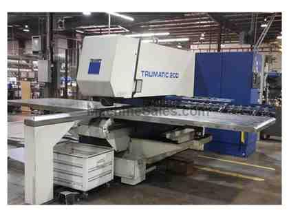 1995 Trumpf TC200R CNC Punching Machine