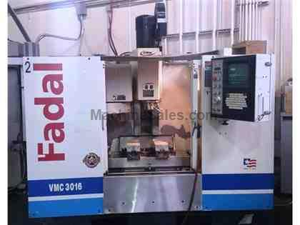 Remanufactured Fadal VMC3016HT CNC Vertical Mill, (Remaned in 2003)