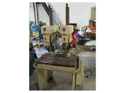 USED ROCKWELL MODEL 15-665  2-HEADED DRILL PRESS