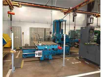 GIDDINGS & LEWIS 340-T TABLE-TYPE HORIZONTAL BORING MILL