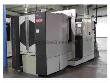 Used Toyoda Fh550r Cnc Horizontal Machining Center New