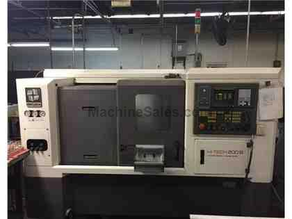 Hwacheon Hi-Tech 200B CNC Lathe w/ Live Tooling