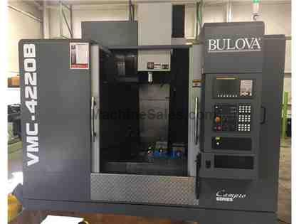 2014 Bulova VMC-4220B CNC Vertical Machining Center