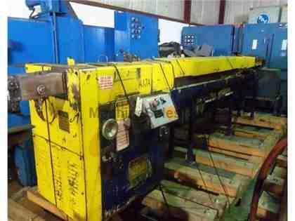 "3/16"" LEWIS 2SHV WIRE STRAIGHTEN & CUT MACHINE"