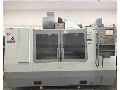 HAAS VF 6D Vertical Machining Center 4th AXIS READY