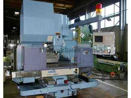 OKK #MCV460 CNC VERTICAL MACHINING CENTER