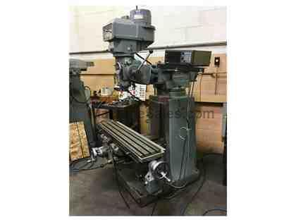 EX-CELL-O MODEL 602 VERTICAL VARIABLE SPEED  MILLING MACHINE