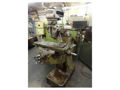 Bridgeport Model 1J Vertical Milling Machine